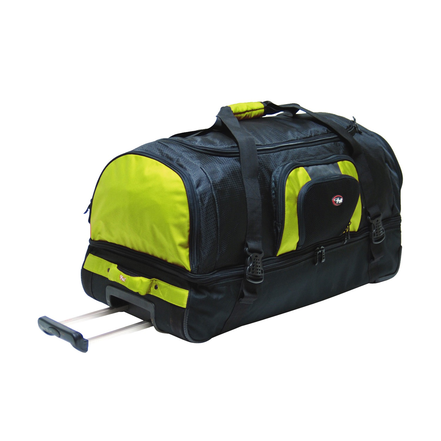 9d5f5616c532 CalPak DW400XX Temptation 36 32 26 inch 2 Section Rolling Wheeled Duffel Bag