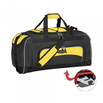 "Travelers Club 57024 ADVENTURE 24"" SPORT DUFFEL W/ WET SHOE POCKET"