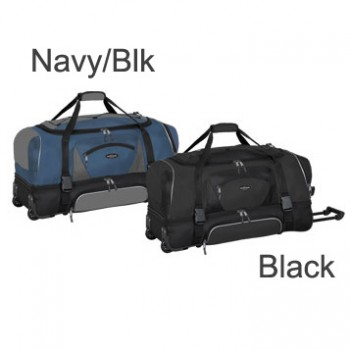"Travelers Club 57036 ADVENTURE 36"" 2-Section Drop Bottom Rolling Duffel Bag"