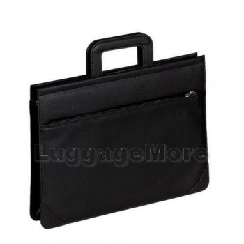 Transworld 9013 17-inch Black Briefcase