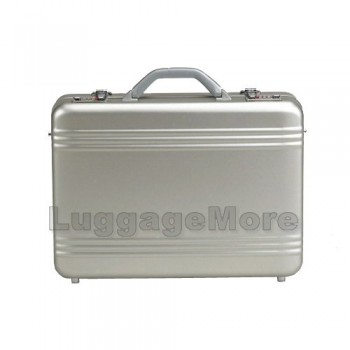 "Transworld AL69 18-inch Aluminum Attache Briefcase for 17"" Laptop"