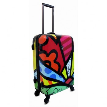 Heys Britto Collection 4WD A New Day Hardside Spinner Luggage