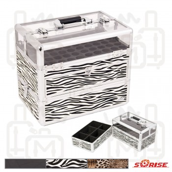 Sunrise C3015 Aluminum Cosmetic Beauty Nail Case