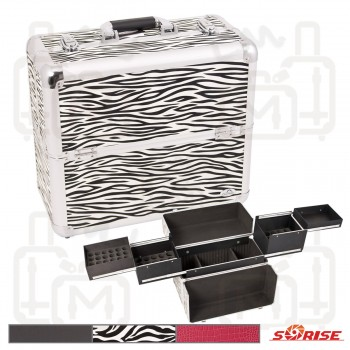 Sunrise C3017 Aluminum Beauty Nail Case