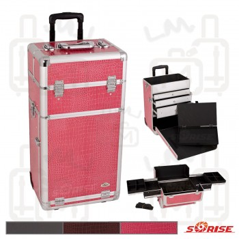 Sunrise CCCR01 Aluminum Beauty Case w/ Drawer