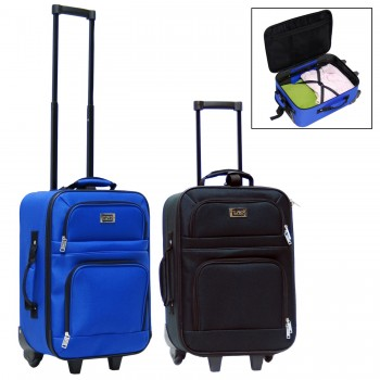 "CalPak LCK019 FAST TRACK 19"" Carry-On Rolling Upright Luggage"