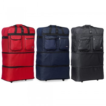 HIPACK Enorme SPIN ROLLING WHEELED BAG LUGGAGE