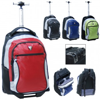 "CalPak RBP501 City View 18"" Rolling Wheeled Backpack"