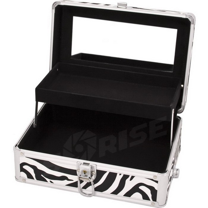 PRO Aluminum Heavy Duty Jewelry Storage Box Makeup Cosmetic