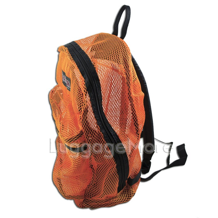 Transworld 4036 17 Inch Mesh See Through Backpack Book School Bag