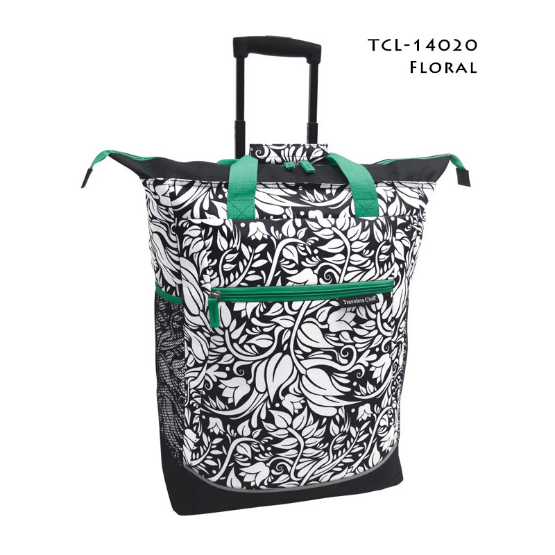 Travelers Club 14020 20 Quot Rolling Tote Bag