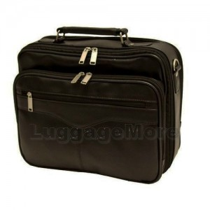 "Transworld 9062 13-inch Black Briefcase for 13.3"" Laptop"