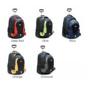 "CalPak RBP016 Diplomat 21"" Rolling Backpack with 17"" Detachable Backpack"
