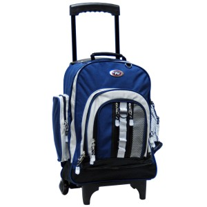 "CalPak 5060N Awestruck 18"" Double Compartment Rolling Backpack"