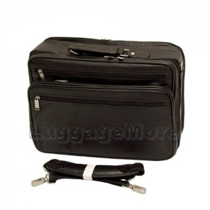 "Transworld 9065 16-inch Black Briefcase for 15.4"" Laptop"