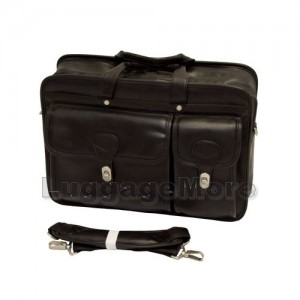 "Transworld 9077 17-inch Black Briefcase for 15.4"" Laptop"