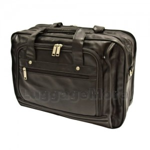 "Transworld 9084 17-inch Black Briefcase for 15.4"" Laptop"