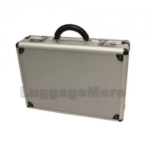 Transworld AL53 18-inch Aluminum Lockable Attache Briefcase