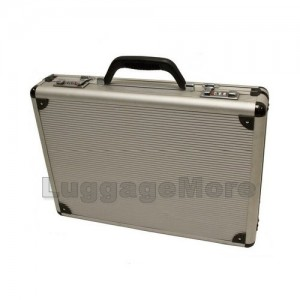 Transworld AL54 18-inch Aluminum Lockable Attache Briefcase