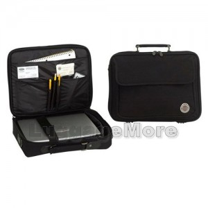 "Transworld B115 15.5-inch Black Briefcase for 15.4"" Laptop"