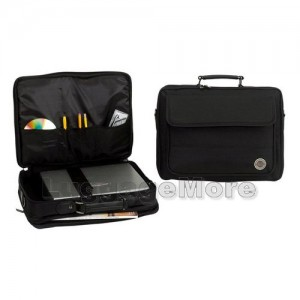 "Transworld B119 16.5-inch Black Briefcase for 15.4"" Laptop"