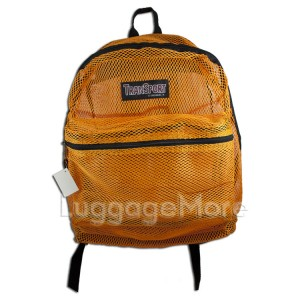 Transworld 4036 17-inch Mesh See Through Backpack Book School Bag