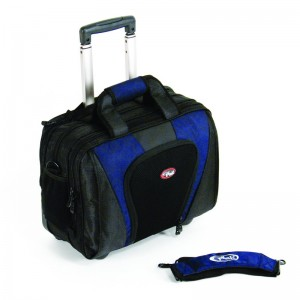 "CalPak SBWL3060 Persuader-2 Expendable Rolling Briefcase for 15.4"" Laptop"