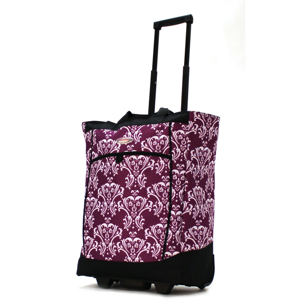 Olympia Rs 400 Rolling Shopping Tote Bag Ebay